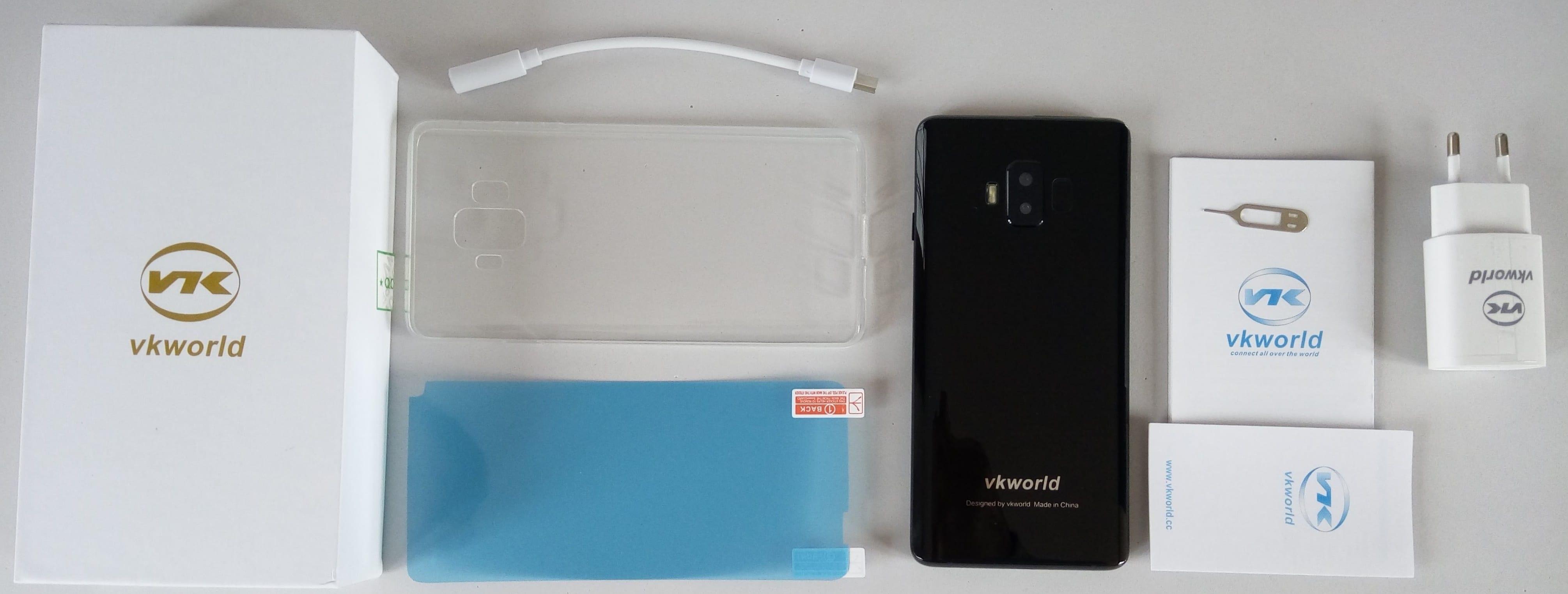 vkworld S8 contenido de la caja