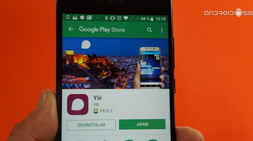Yii App en el Play Store
