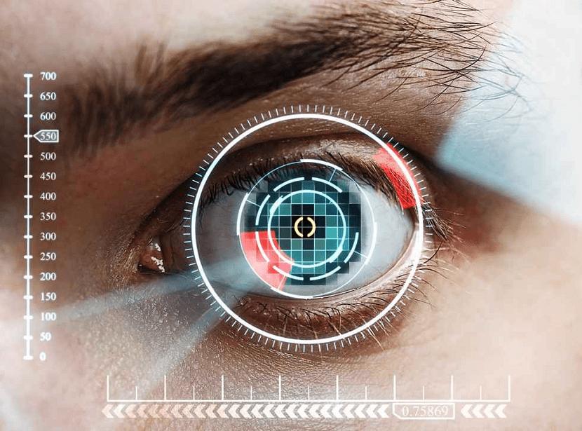Android P escaner iris
