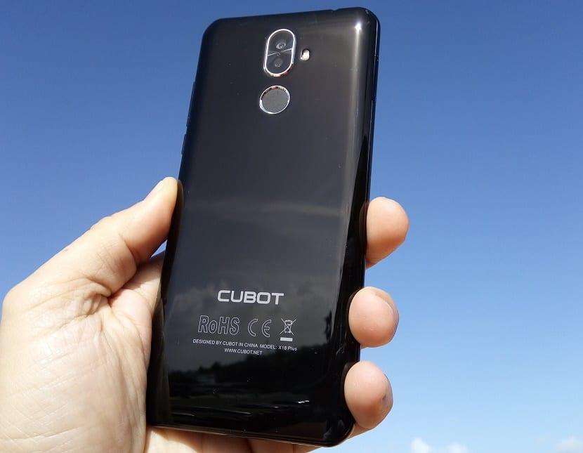 CUBOT X18 Plus portada