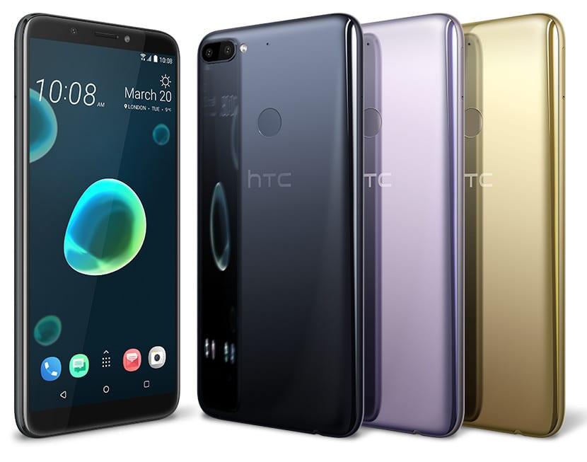 HTC Desire 12(doce) y 12(doce) +