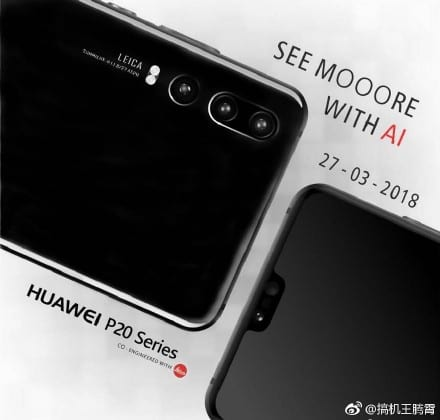 Huawei P20 Promocional