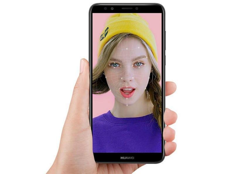 Huawei Nova 2 Lite con reconocimiento facial