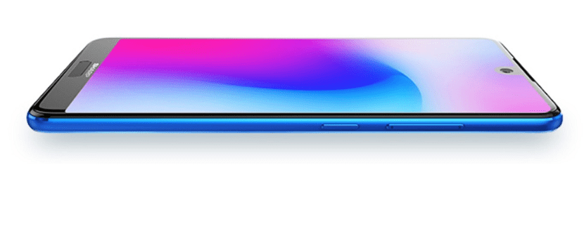 Sharp Aquos S3 Mini Azul