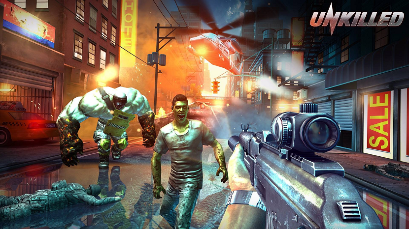 Unkilled shooter Android