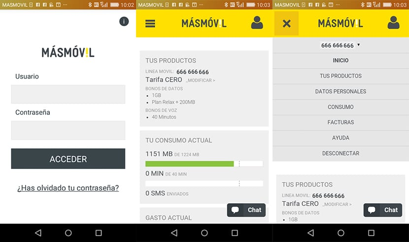 MásMóvil para Android