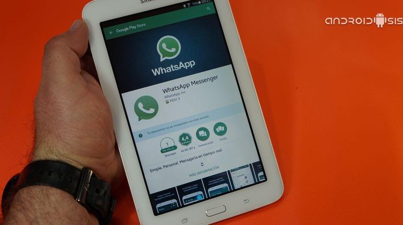Cómo instalar la aplicación oficial de WhatsApp en tu Tablet Android