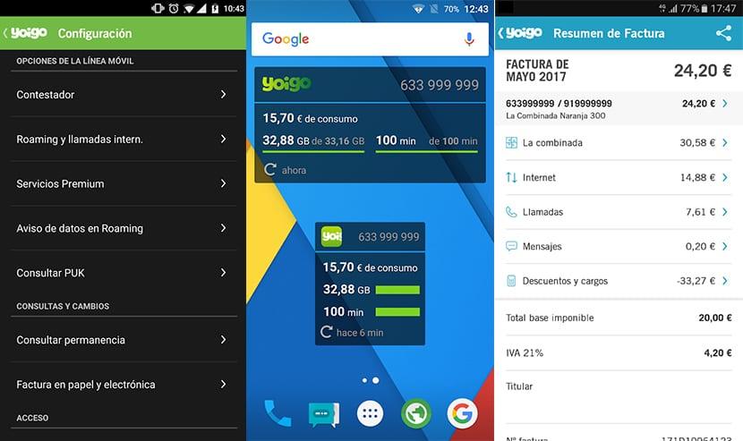 Mi Yoigo en Android