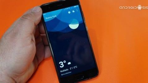 [APK] Oneplus Weather para cualquier Android
