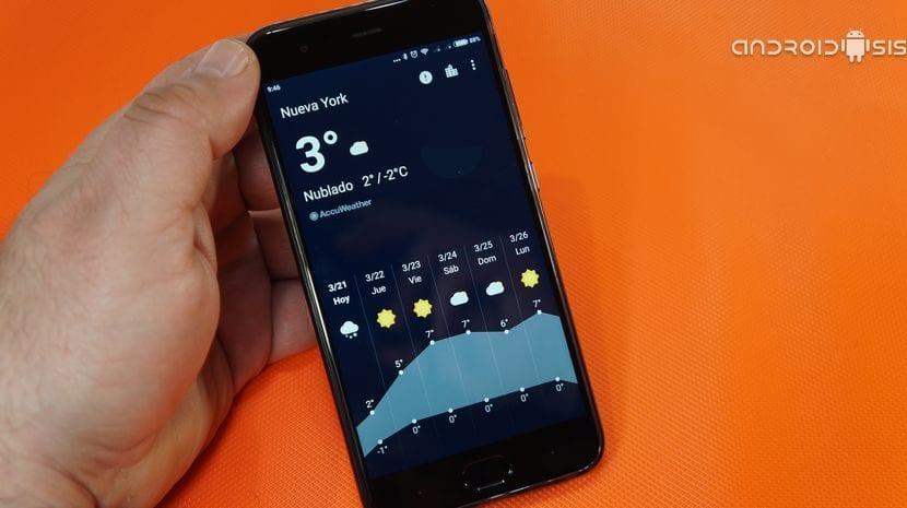 Oneplus Weather, la app del tiempo de Oneplus en cualquier Android