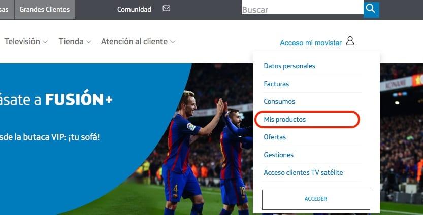 Cambiar mi tarifa Movistar por Internet