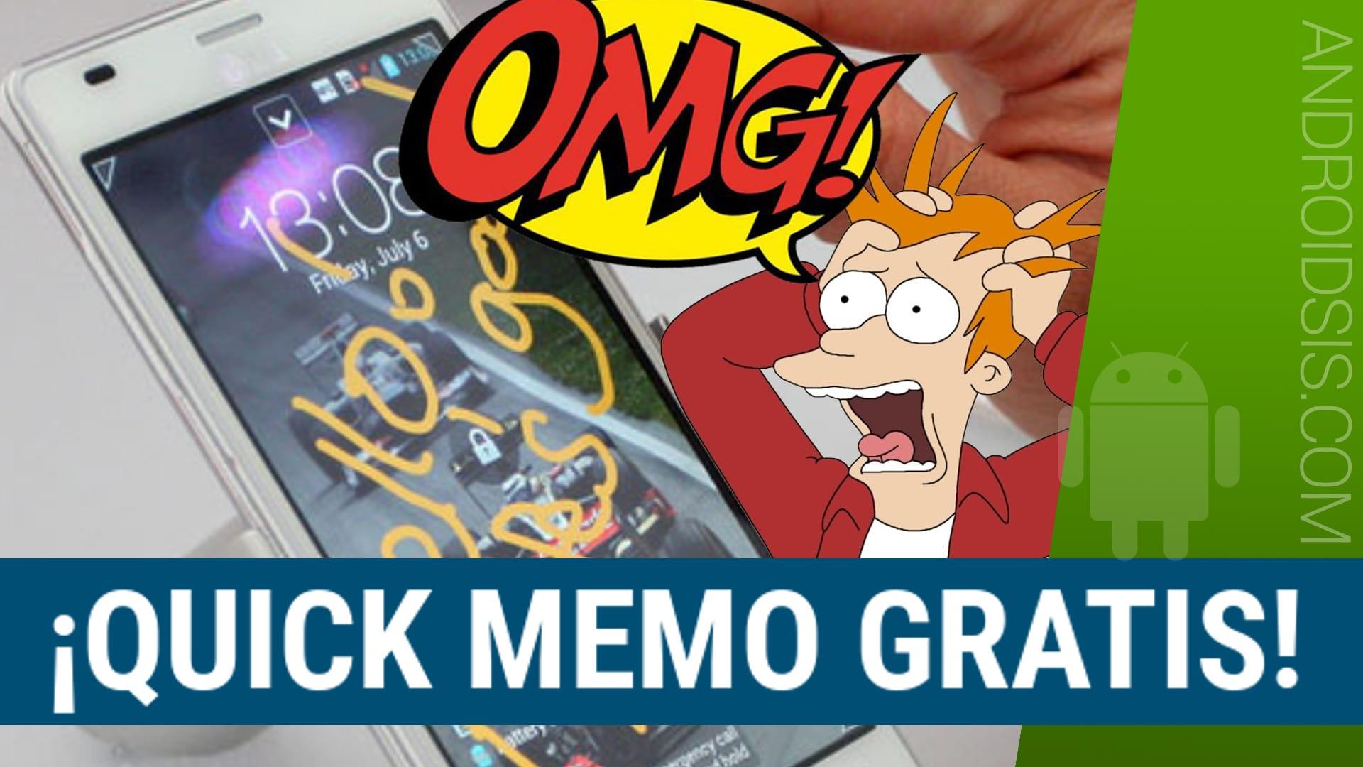 Como tener la funcionalidad de Quick Memo en cualquier Android