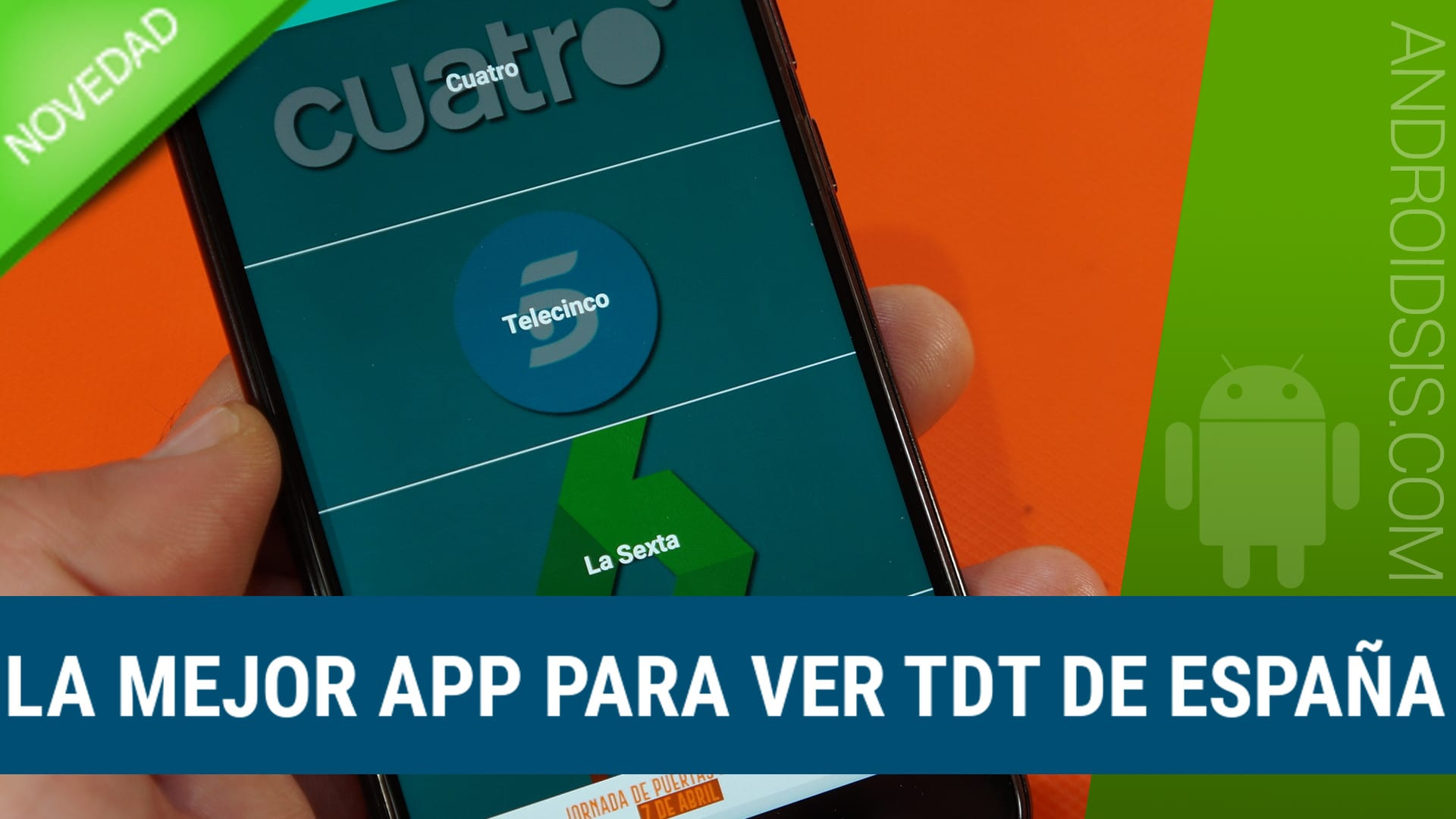 La mejor app para ver TDT en el móvil con soporte Chromecast. (TDT, Radio y Prensa gratis)