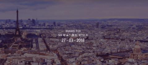 Presentación Huawei Paris
