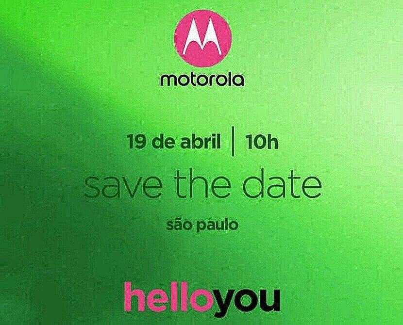 Invitación al lanzamiento del Moto G6