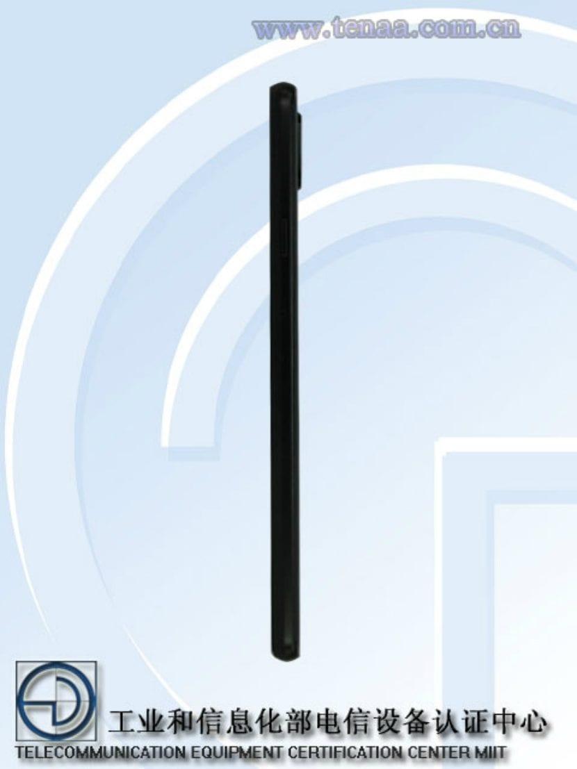 Lateral del Samsung Galaxy S9 Mini