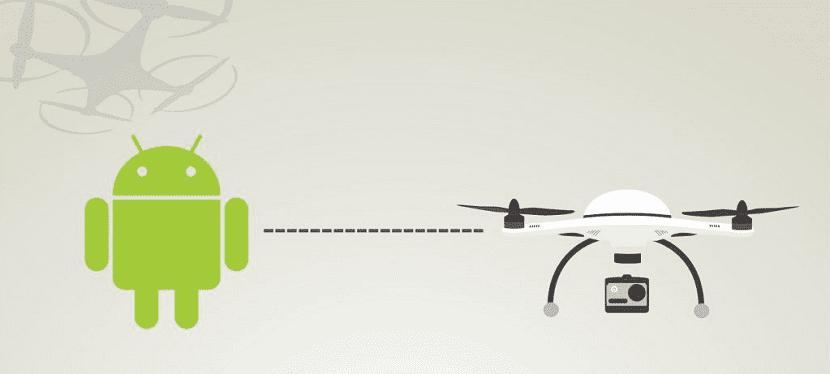 Android aplicaciones drones