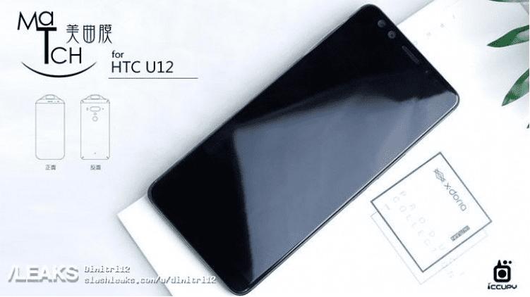 HTC U12 Diseño