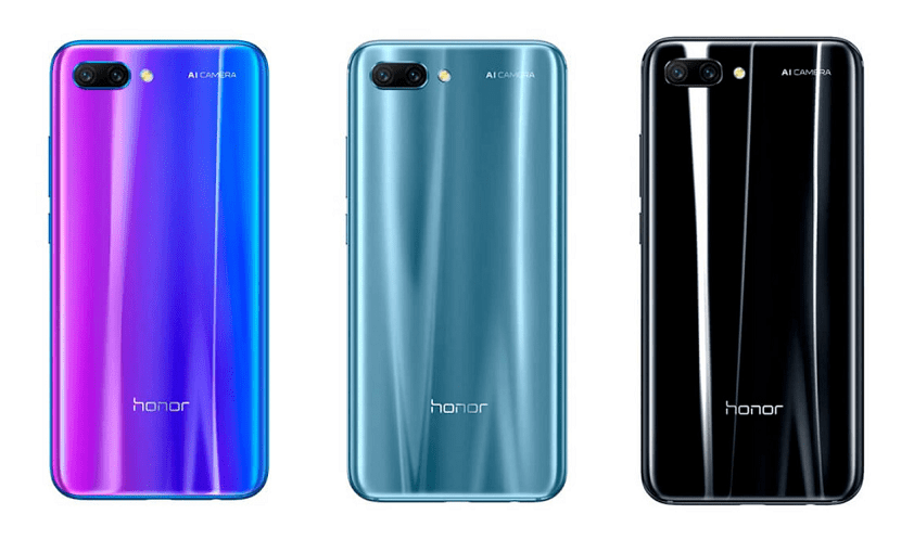 Honor 10 colores