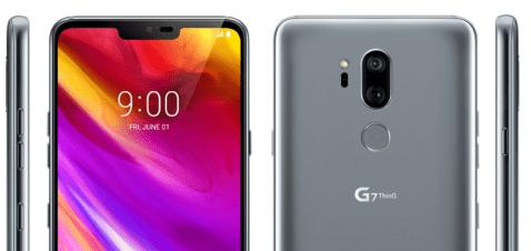 LG G7 ThinQ Diseño