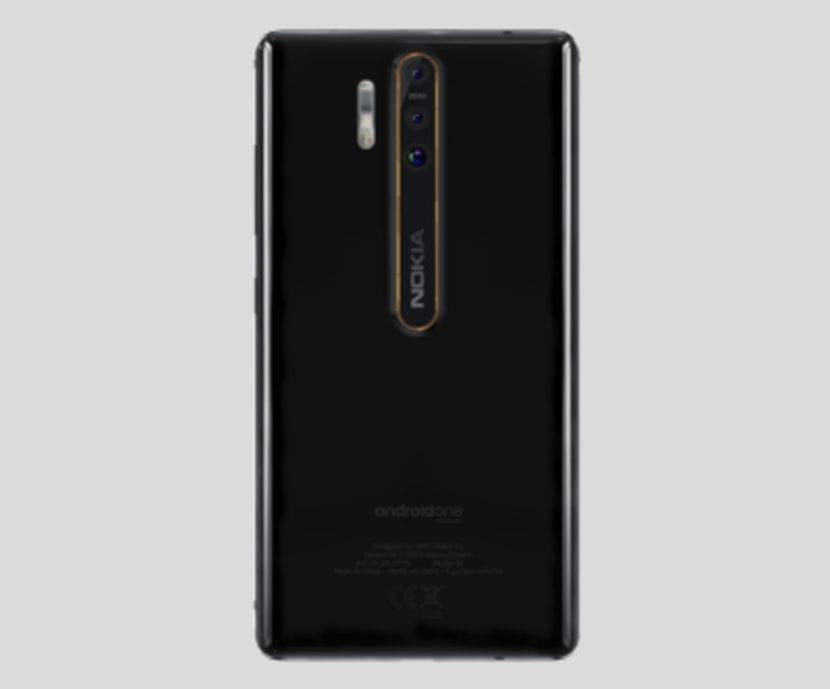 Triple cámara del Nokia 9