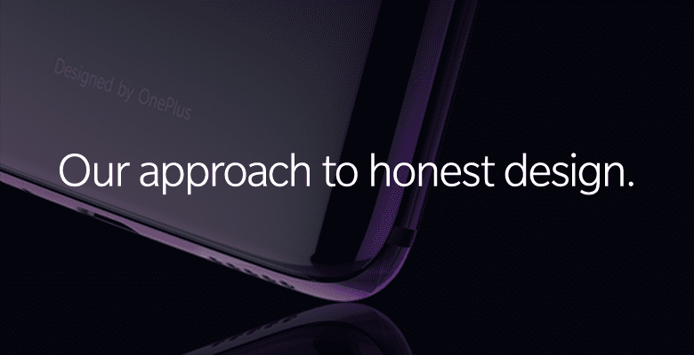OnePlus 6 diseño
