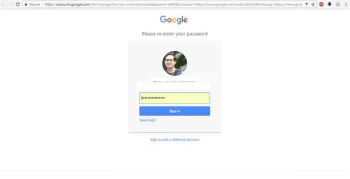 Registrar cuenta Google