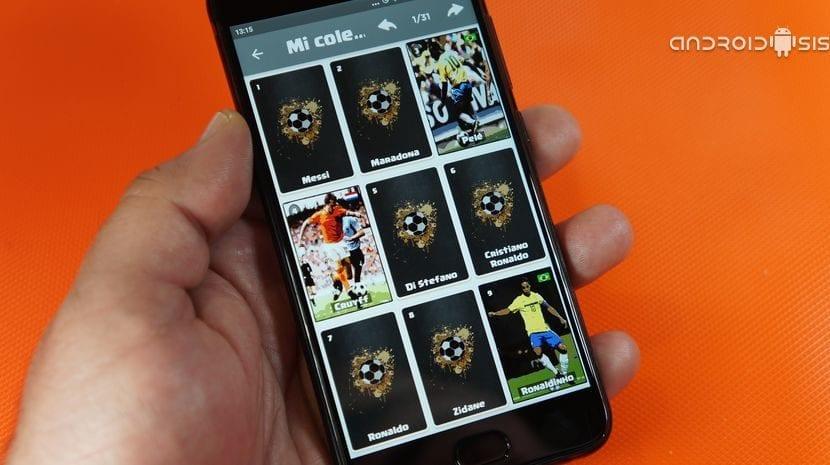 Tu álbum de cromos de futbol virtual totalmente gratis