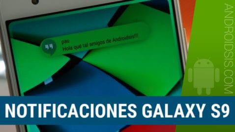 Cómo instalar las notificaciones del Samsung Galaxy S9 en cualquier Android