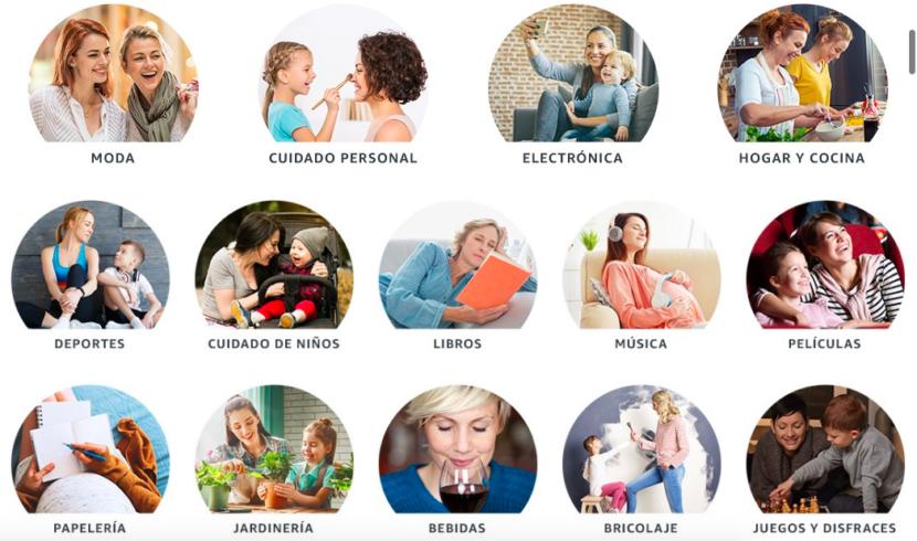 Regalos por categorías para el día de la Madre
