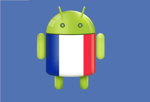 Aplicaciones Android francés