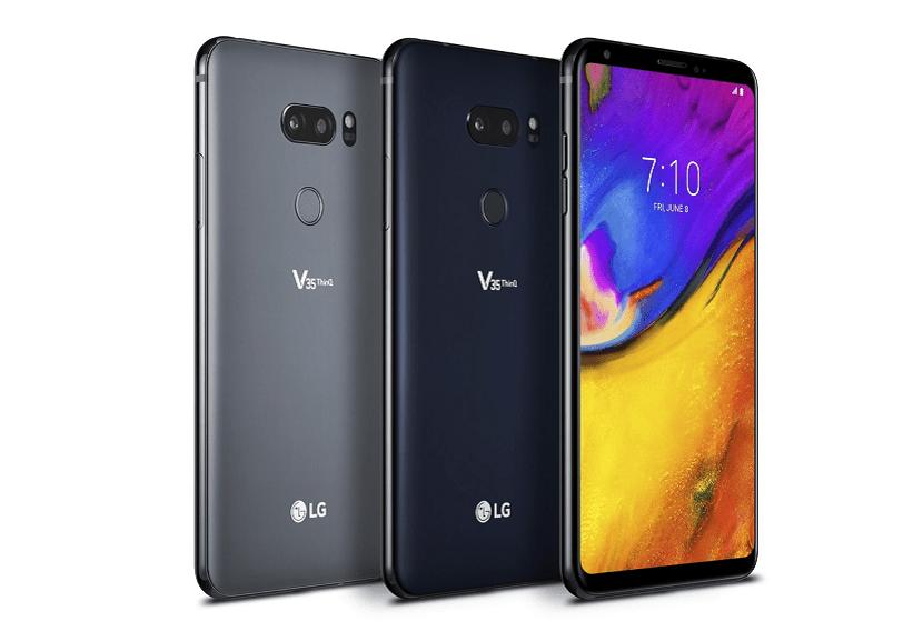 LG V35 ThinQ Diseño