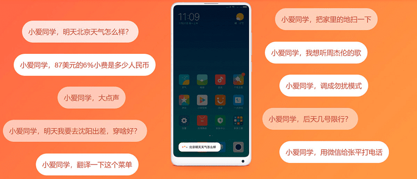 MIUI 10 Inteligencia artificial