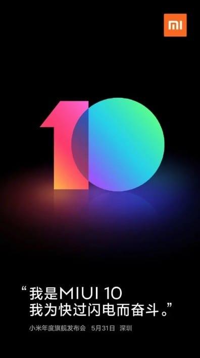 MIUI diez Poster