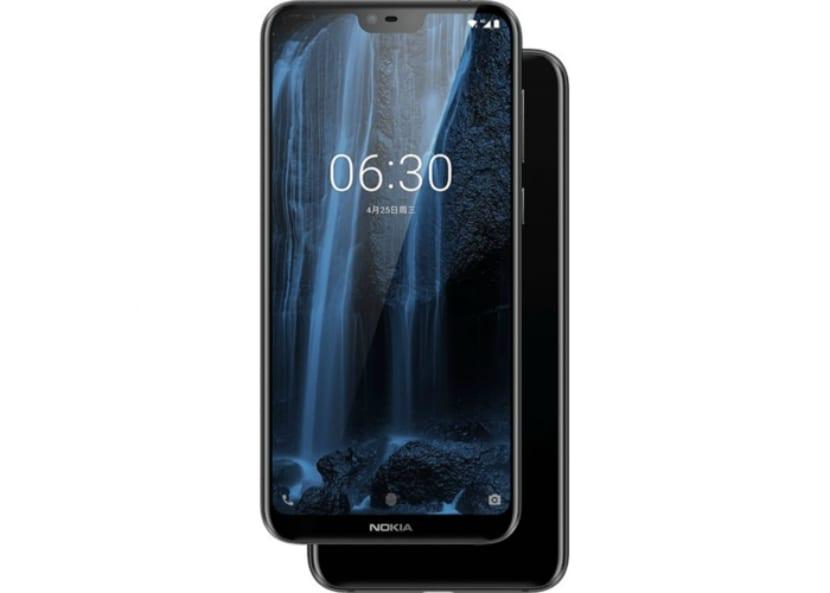 Diseño del Nokia X6
