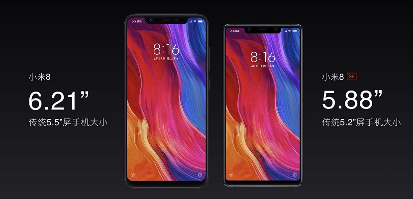 Xiaomi MI ocho SE Tamaño