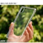 Funda protectora Xiaomi Mi 7