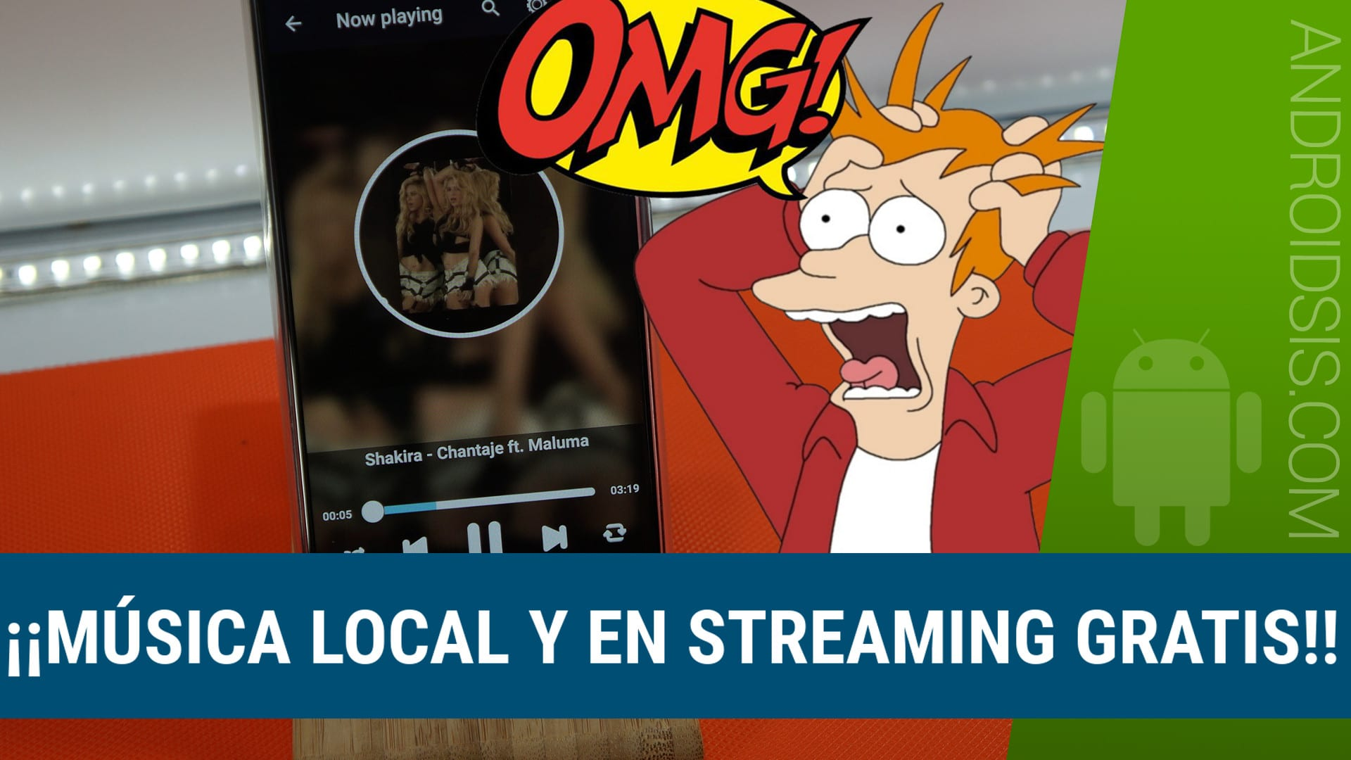 Espectacular reproductor de música local y en streaming totalmente gratuito
