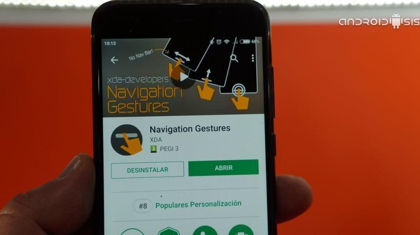 Cómo tener los gestos en pantalla de Android P o el iPhone X