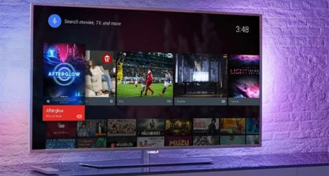 Televisores con Android TV
