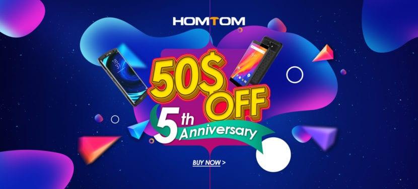 HomTom celebra su quinto aniversario
