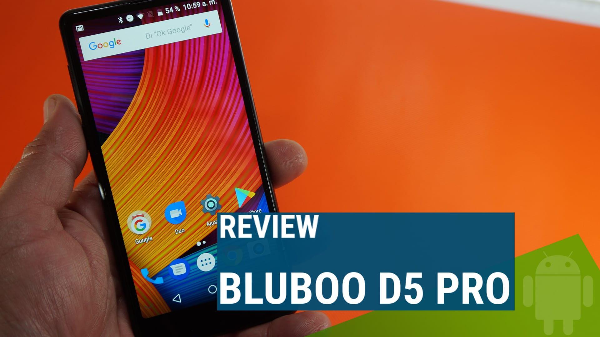 Rwview Bluboo D5 PRO