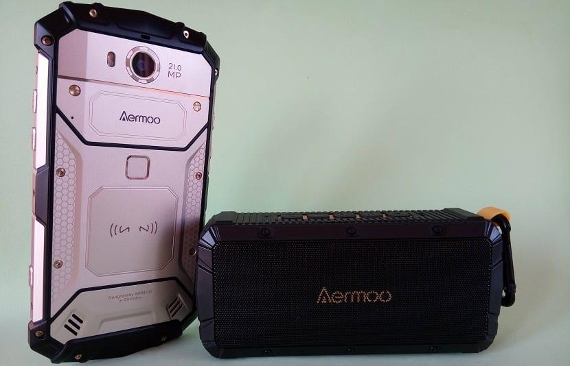 Aermoo M1 y altavoz Aermoo V1