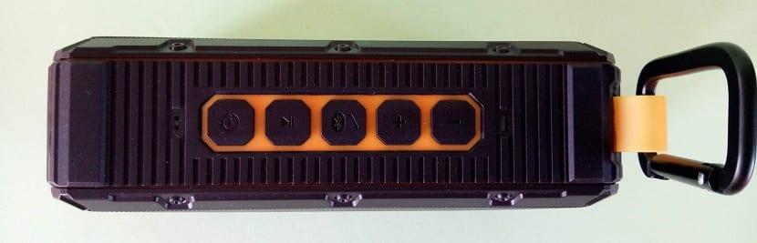 Aermoo V1 botones