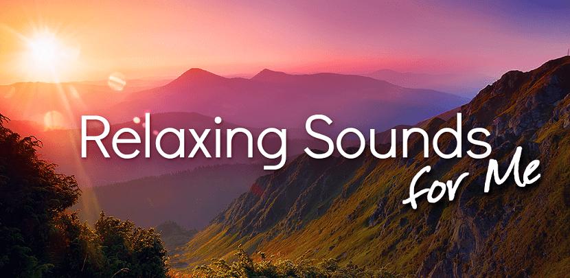 Aplicaciones sonidos relajantes