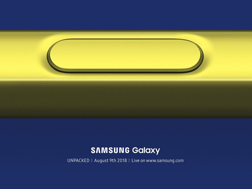 Galaxy Note nueve presentacion