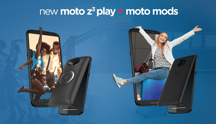 Moto Z3 Play Moto Mods