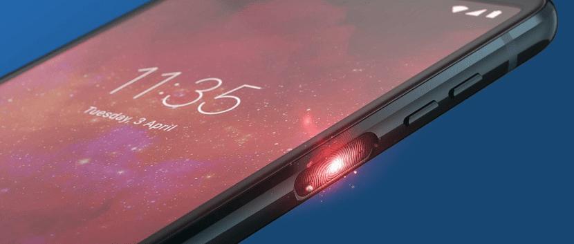 Moto Z3 Play sensor de huellas