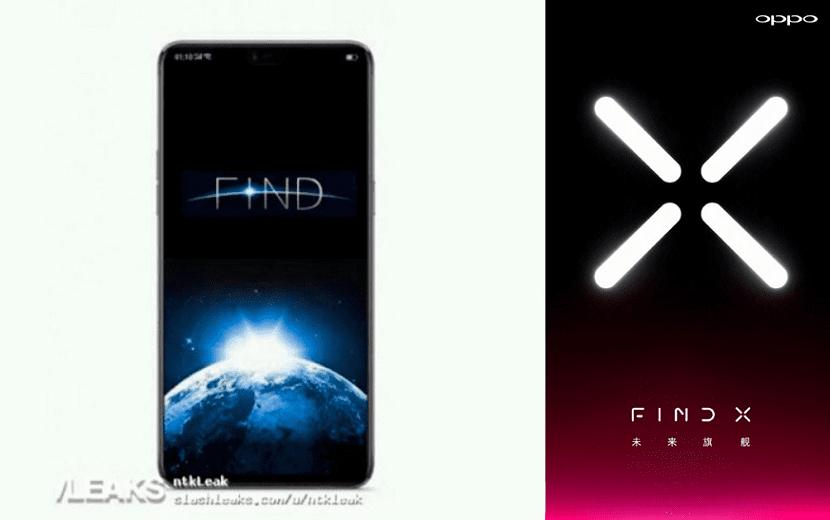 OPPO Find X Diseño