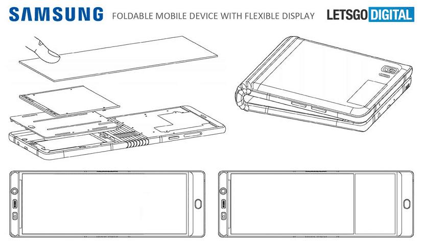 Samsung Galaxy X telefono plegable
